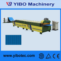 Alibaba China New Products Gutter Machine Metal Roof Tile Roll Forming Line