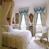 European Style Valances Curtain Jacquard Fabric