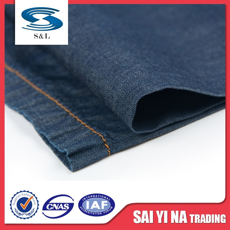 Made in china jeans men denim fabric 100% cotton for sale