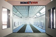 Truck spray booth is a car paint equipment with paint finishing system