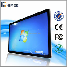 HQ55EW-M2 Wall hanging 55 inch led lcd monitors display screen for computer kiosk tv information checking desk