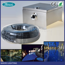 China supply Hot sale high quality competitive price plastic PMMA fiber optic led swimming pool light