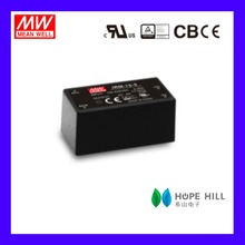 Original MEAN WELL IRM-15-12 15W 12V single output Miniature Encapsulated type Green open frame switching power supply