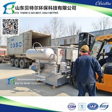 Slaughtering House Wastewater Treatment Machine DAF-Dissolved Air Flotation