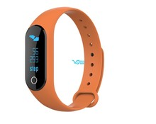 popular 0.86 OLED screen heart rate smart bracelet with reading message smart fit band