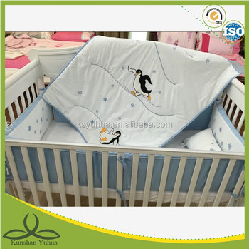 baby bedding set/cartoon bedding set/baby crib bedding set