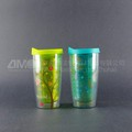 Plastic coffee cup, take away coffee cups, custom mug