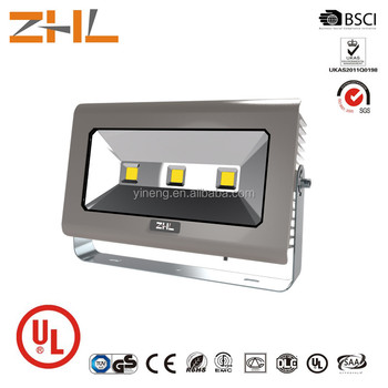 2016 ZHL UL approved 150W flood lights LED 100-277V Outdoor lighting Bridgelux chip+ Meanwell driver