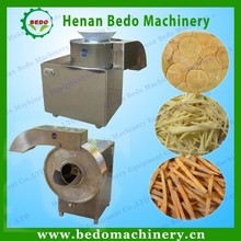 semi-automatic potato chips making machine / potato french fry cutter machine 008613343868847