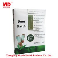 New products for 2013! detox foot patch/foot pad box packing(10 pieces)