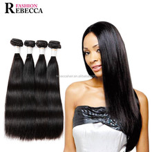 Rebecca 100% Indian human hair exsention silky straignt hair