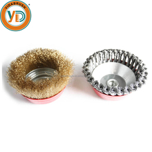 4'' Crimped Wire Cup Brush