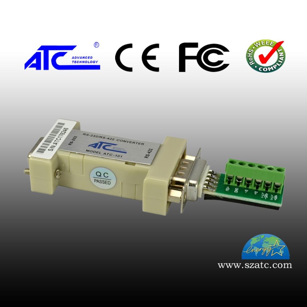 Port Powered Serial Port RS232 to RS422 Interface Converter Non Isolated