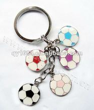 Custom Fancy Football Gift Keychain