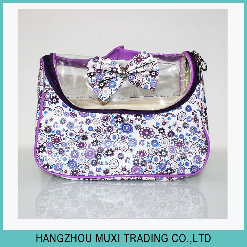 Wholesale Cheap Small Ladies Clear PVC Cosmetic Bag Bulk Brand Mini Korean Cosmetic Bag Make-Up Makeup Bag With Zipper