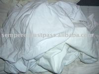 White cotton rags new / no used clothing