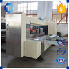 New automatic carton box flexo printing slotter die cutter machine with famous feeding unit