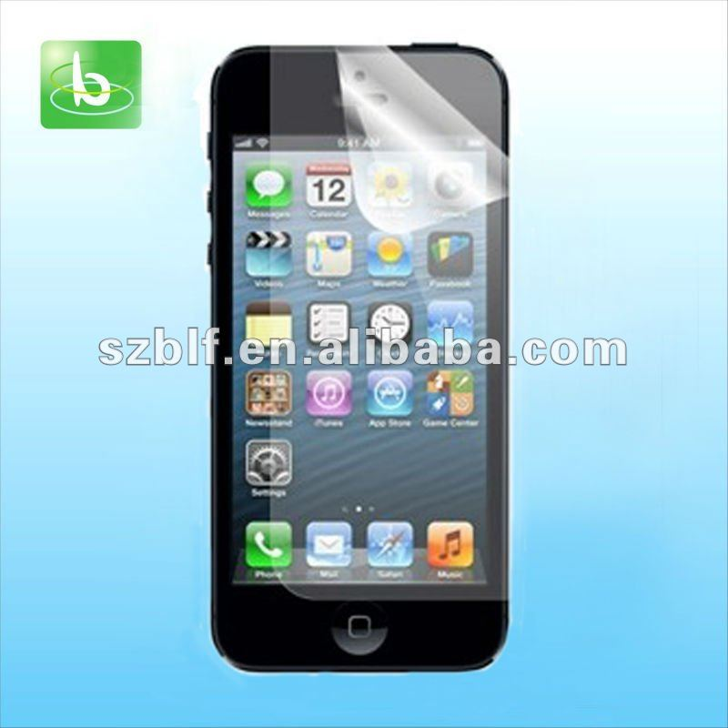 Newest waterable lcd tv screen protector film for iphone 5