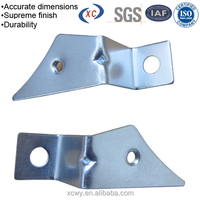 Stainless steel clips metal shielding case mending plate in brackets