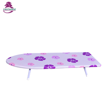 wooden Mini clothes folding ironing table top ironing board