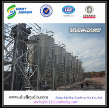chicken feed silo system with auger