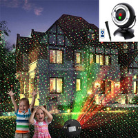 Waterproof Outdoor Star RG Christmas Laser