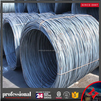 China steel prices Steel Wire Rod/prestressed concrete pc steel wire price