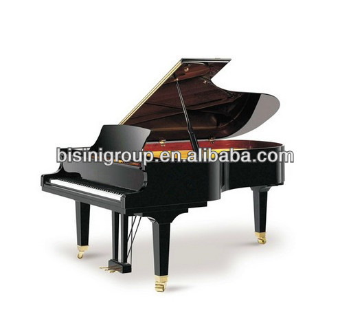 Bisini keyboard instrument 186 black grand piano