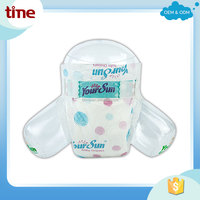 Soft and sleepy baby diaper from quanzhou china comfortable baby diaper high absorbency water