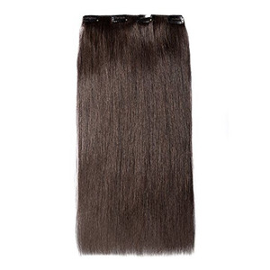 High quality 100% human indian clip in hair extensions 100g-200g fast shipping straight long hair for woman