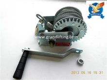 China manufacture Hand winch wholesale used boats worm gear winch