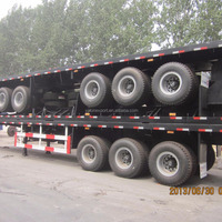 Long Vehicle 3 Axle Container Semi