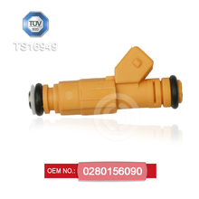 Fuel injector nozzle OEM 0280156090 compatible with Chevrolet CORSA Opel CORSA spare parts