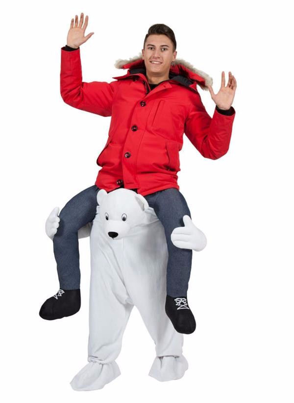 Fashion Fox Animal Ride on Mascot Costume Carry me Costume