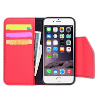 New design leather case for iphone 7,stand case for iphone phone accessories