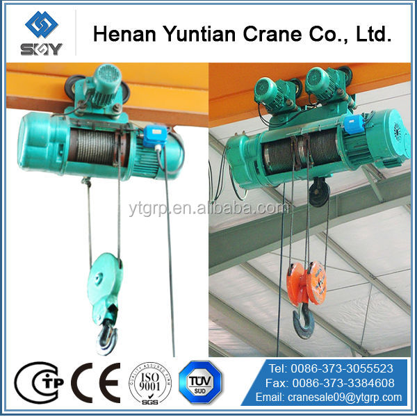 Widely Used China Famous Brand Henan Yuntian Engine Hoist Parts