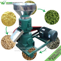 Catfish feed pellet machine