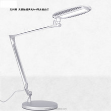 12w fancy style table tiffany light modern silver led table light for office home hotel
