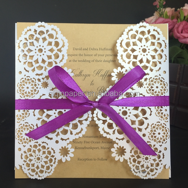 2016 latest wedding card designs