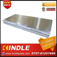 Kindle New customized galvanized complex bend part in Guangdong ISO9001:2008