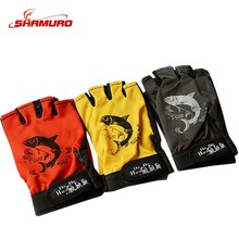 Hot Sell Non-slip Cycling Fishing Outdoor Sports Half-fingers Fingerless Fly Fishing Gloves