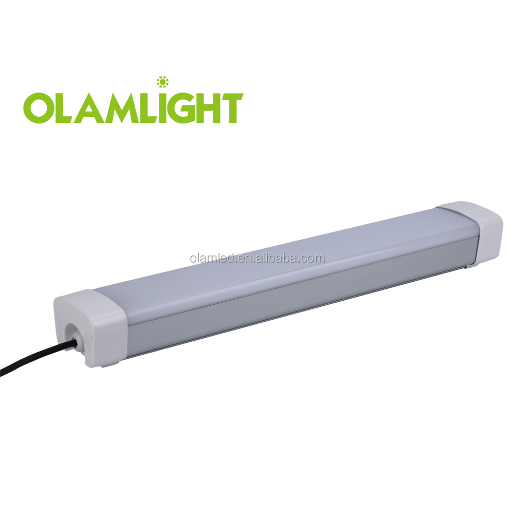 IP65 super Bright TUV GS CB listed 900mm 40w LED Tri-Proof Light with 5 yrs warranty