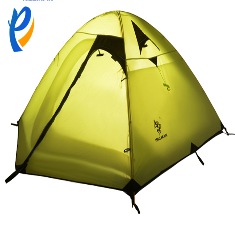 Good quanlity foldable beach 2 person camping tent ultra light tent