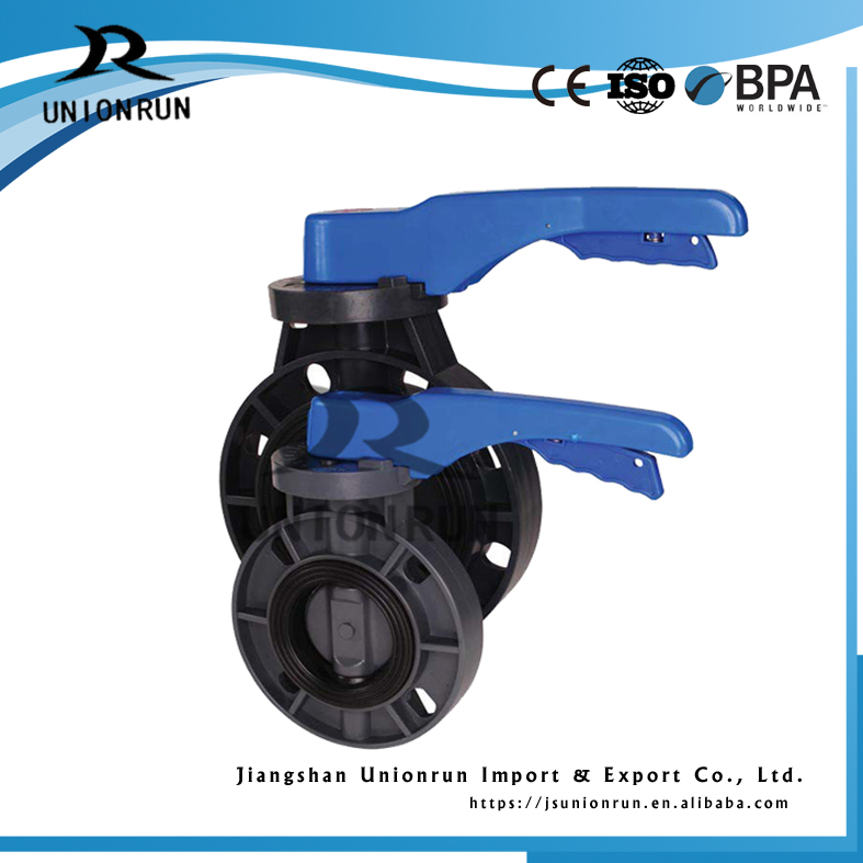Hot Shopping Modulated Control Plastic Cpvc Pvc Wafer Type Butterfly Valve