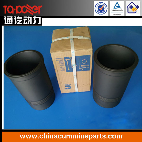 ccec original dongfeng cummins nt855 engine parts cylinder liner 3055099