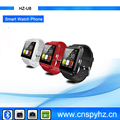 $9.8-$11 U8 Wrist Watch Cell Phone Cheap Price Bluetooth Watch Wrist Mobile Phone