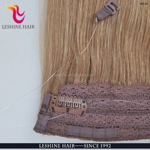Wholesale high quality skin weft 90g/100g/110g 100% European remy human hair tape fish line hair extensions
