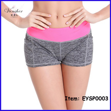 women's sport fashion seamless yoga shorts