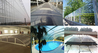 Plastic building material SGS approved ge lexan cheap transparent solid polycarbonate sheet