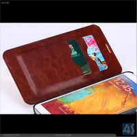 Galaxy Note 3 card holder wallet leather case for Samsung Galaxy Note 3 N9000 N9002 N9005 P-SAMN9000CASE021